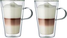 Canteen glass med med doble vegger 2 stk 0,4 l