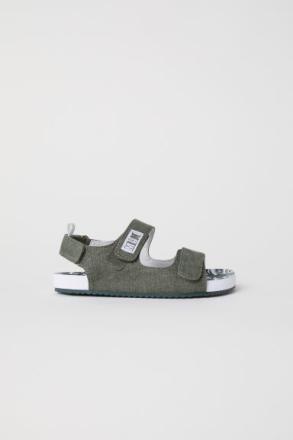 H & M - Sandaalit - Vihreä