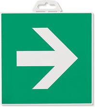 Hinweischild ''Richtungspfeil (grün)''
