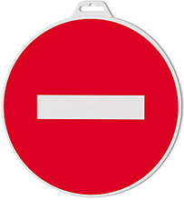 Hinweischild ''Kein Durchgang''