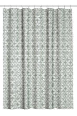 H & M - Kuviollinen suihkuverho - Valkoinen