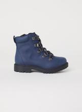479c694f H & M - Boots med glidelås - Blå
