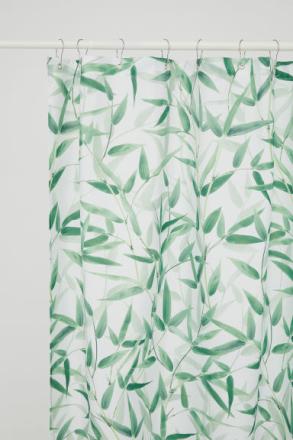 H & M - Valokuvallinen suihkuverho - Vihreä