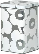 Unikko säilytyslaatikko, 17,5 cm Harmaa-valkoinen