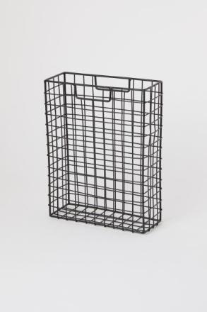 H & M - Metallinen lehtiteline - Musta