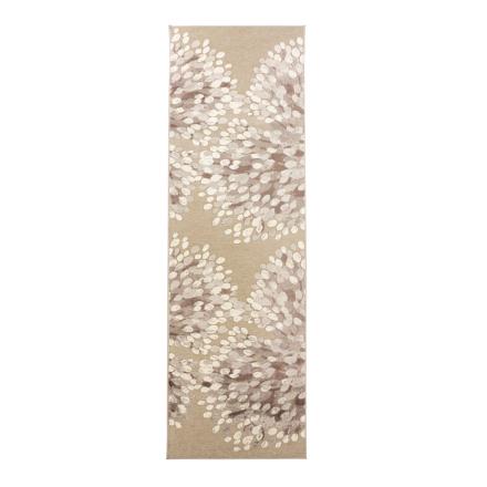 Sydänpuu matto harmaa-valkoinen 68 x 110 cm