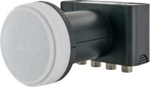 Schwaiger LNB4 Quad-LNB Antal mottagare: 4 Matning: 40 mm med switch