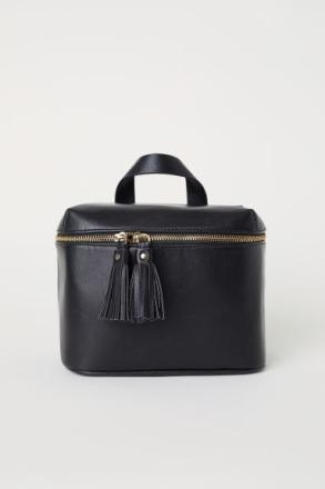 H & M - Iso toilettilaukku - Musta