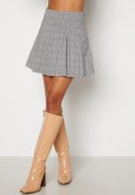 BUBBLEROOM Nellie skirt Black / White / Checked 38