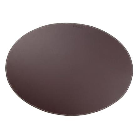 Ørskov pöytätabletti nahka soikea ruskea