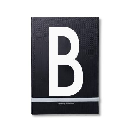 Design Letters personlig notatbok B