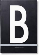Design Letters henkilökohtainen muistikirja B