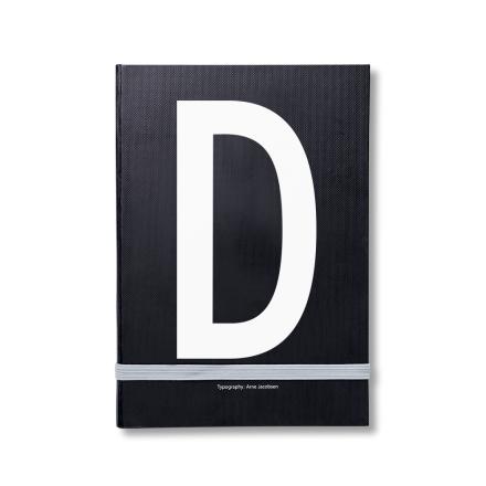 Design Letters personlig notatbok D
