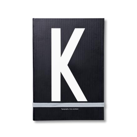 Design Letters personlig notatbok K