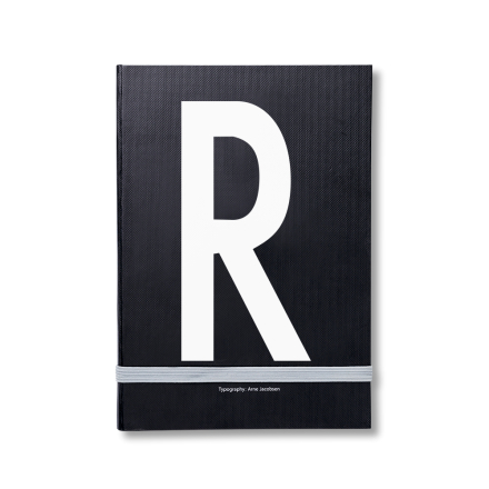 Design Letters personlig notatbok R