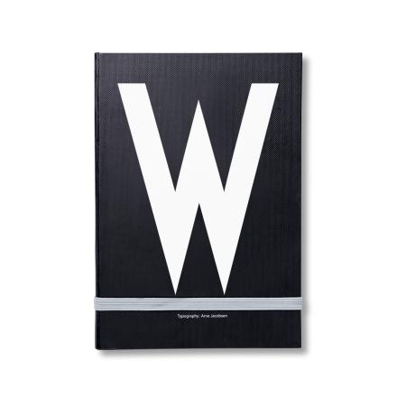Design Letters personlig notatbok W