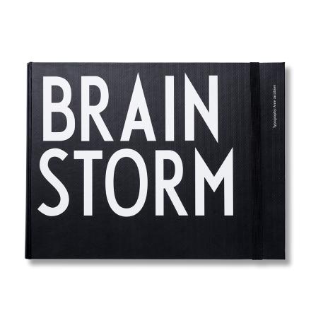 Design Letters notatbok XL liggende brainstorm