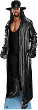 WWE - The Undertaker Hat and Coat Lifesize Cardboard Cut Out