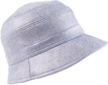 Vändbar hatt från Seeberger blå