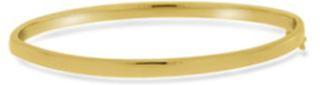 GD 1370 New York sølv armring forgylt