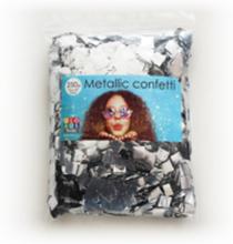 Confetti vierkant 10x10mm - zilver
