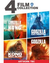 Godzilla and Kong 4-Film Collection