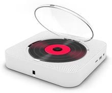 Bärbar Cd -spelare Bluetooth -högtalare Stereo Cd -spelare Led