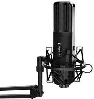 UNI Gaming Mikrofon m/ Elastikholder til Mac og PC
