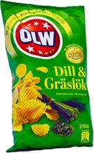 Chips Dill & Gräslök - 25% rabatt