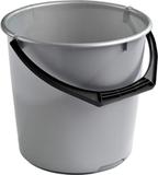 Hink 10 L Silver Nordiska Plast