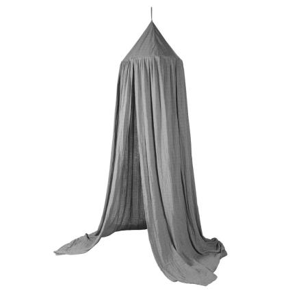 sebra, Bed Canopy Grey