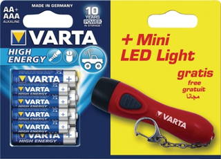 Varta 8-pack batteri