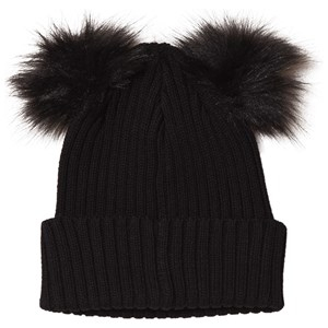 Kuling Frozen Two Pom-Poms Beanie Always Black 46/48 cm - Babyshop