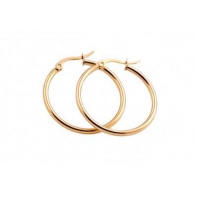Everneed Mille Small Hoop Gold 15 mm