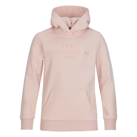 Peak Performance Junior Original Hoodie Barn Tröja Rosa 130