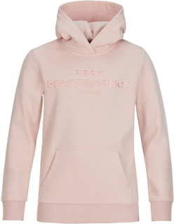 Peak Performance Junior Original Hoodie Barn Tröja Rosa 150