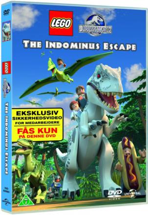 LEGO Jurassic World: The Indominus Escape - DVD
