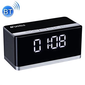 Bluetooth Kelloradio kaiuttimella//Handsfreella/Mikrofonilla