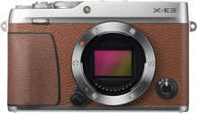 Fujifilm X-E3 Digitalkameras - Nur Körper - Braun (Internationale Version)