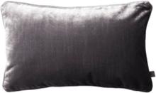 SAMITA kuddfodral 50x30 cm Mörkgrå