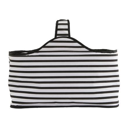 House Doctor kylmälaukku stripes (musta-valkoinen)