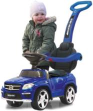 Push Car Mercedes GL63AMG blue 2in1