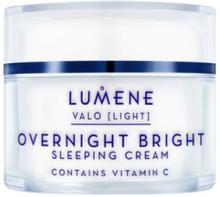 Lumene Valo NORDIC-C Overnight Bright Sleeping Cream Nattkrämer