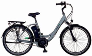 El-sykkel 28' daW ave - sølv