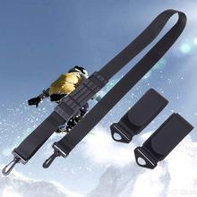 Ski double cross belt skiing snowboard alpine snow board detacha