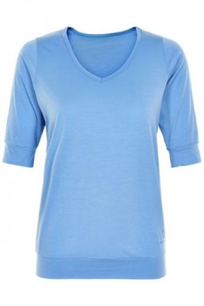 Beverly trekvartsärmad tröja (Färg: Ljusblå, Storlek: M)