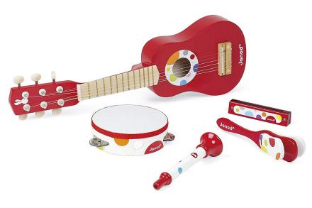 Janod-Musicale sæt konfetti musik Live - Fruugo