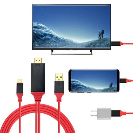 HDTV Type C till HDMI adapter