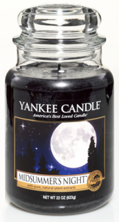 Yankee Candle Classic Large Jar Midsummer Night Candle 623 g