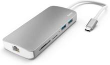 HAMA 7-i-1 USB-C Docking Station m/Kortlæser